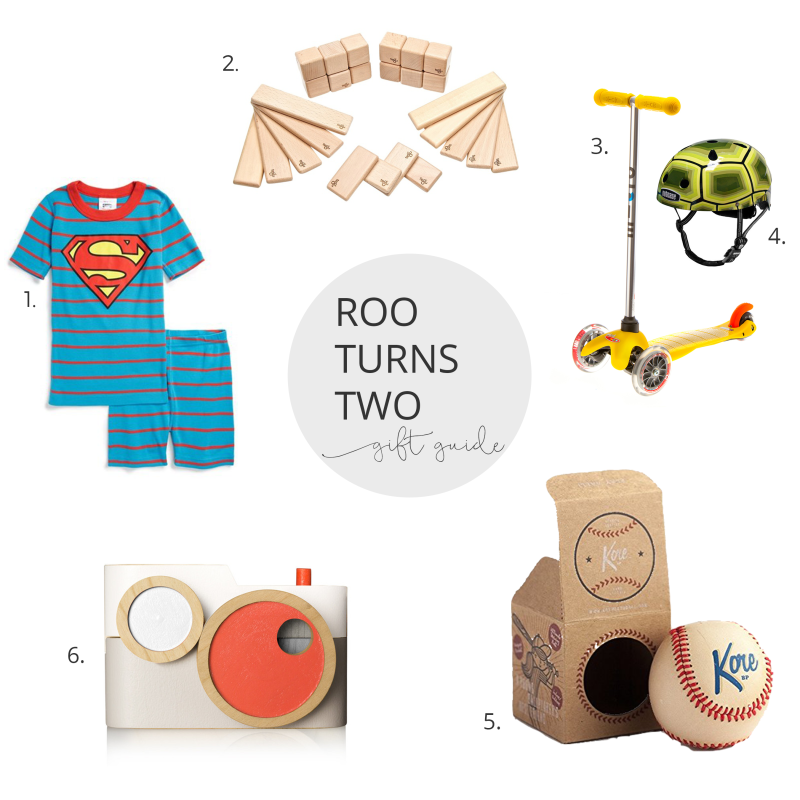 Gift guide for two year old