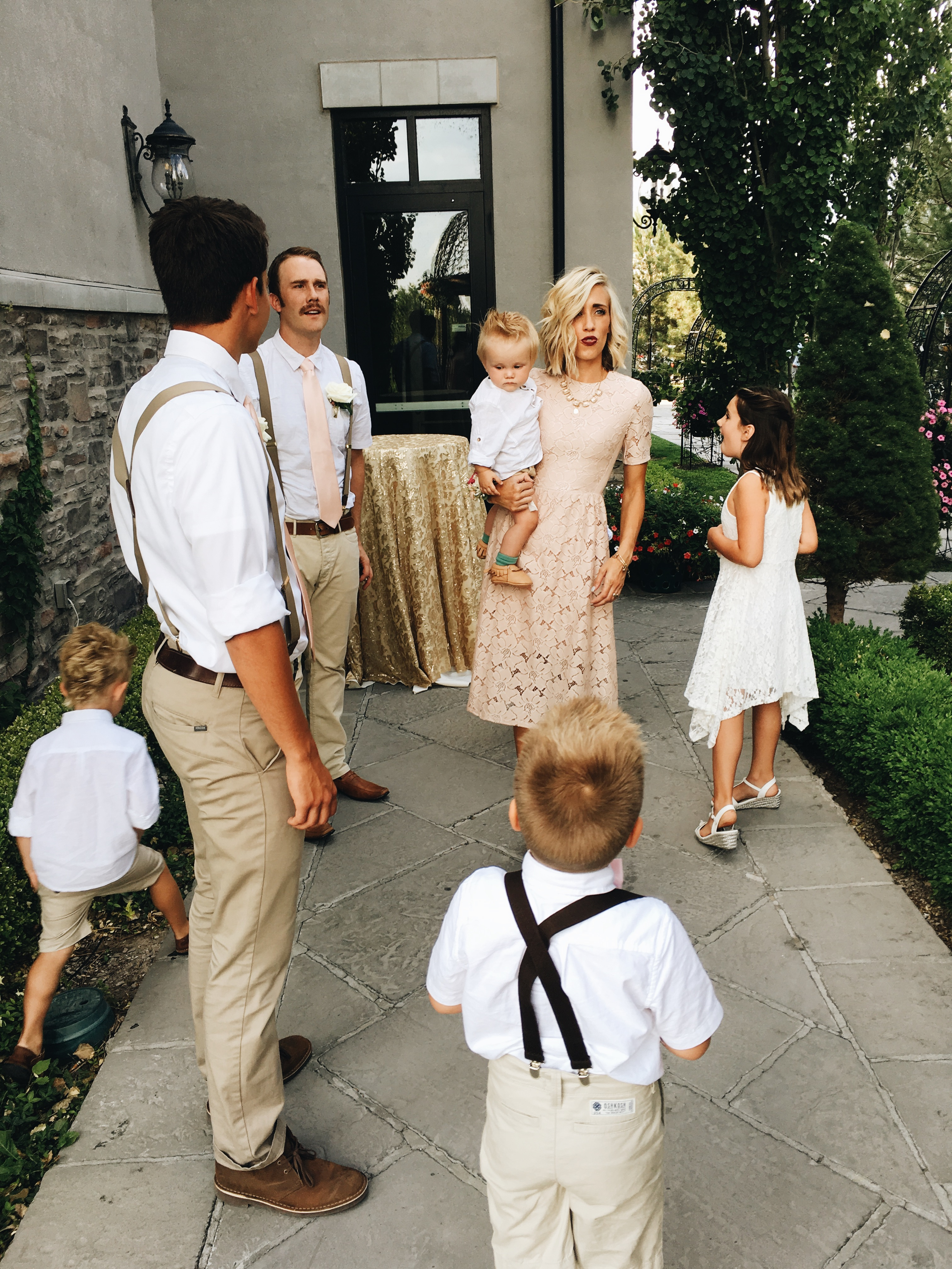 Family Wedding: Jeff & Kim Tie The Knot by social media influencer Ginger Parrish